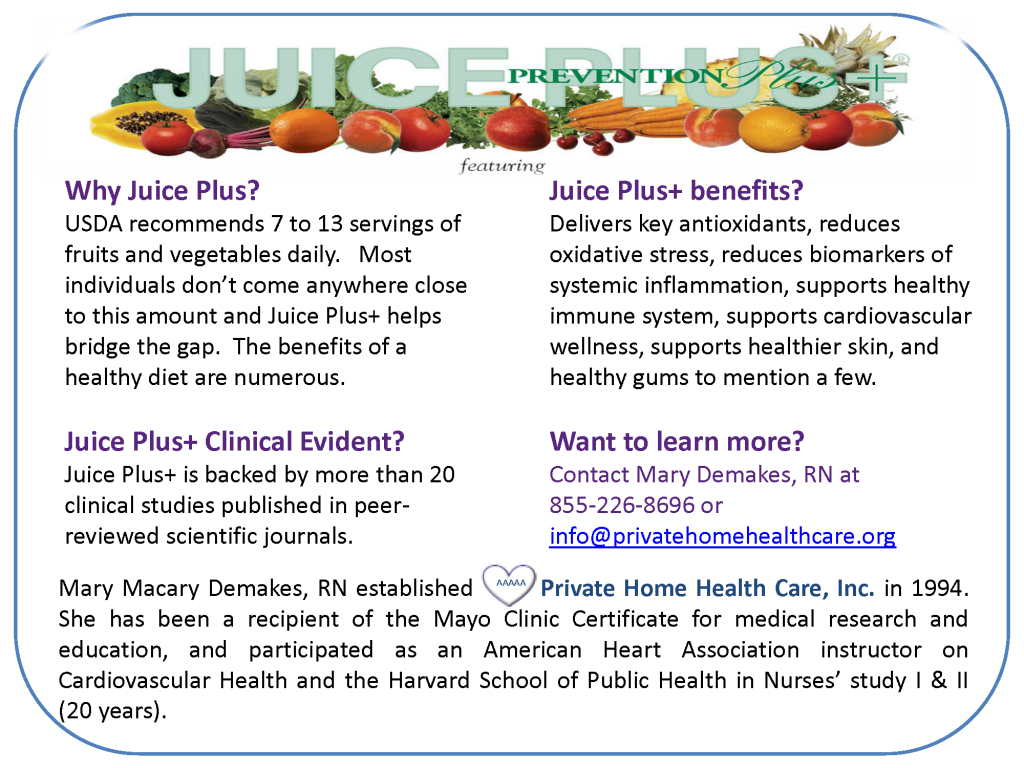Juice Plus - website ad1